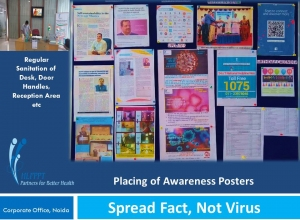 Placing-of-Awareness-Posters-in-Notice-Board-Corporate-Office-Noida