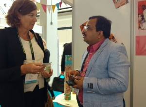 CEO with Petra De Sutter, Senator, Federal Parliament in Belgium