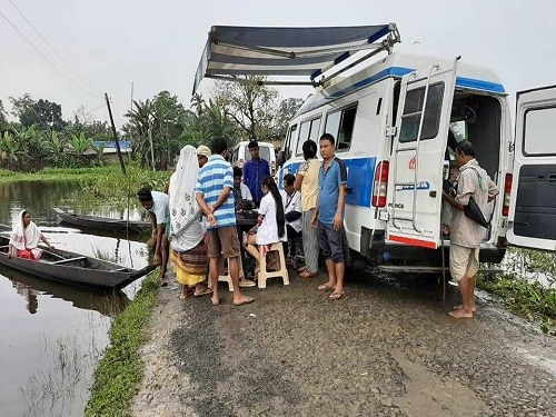 Through MMU, ensuring no one left behind in Flood Affected districts of Assam