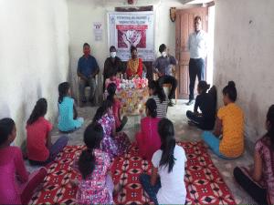 Celebrating International Girl Child Day in Odisha under NLCIL project